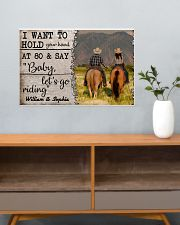 I Want To Hold Your Hand At 80 Horse 24x16 Poster poster-landscape-24x16-lifestyle-25