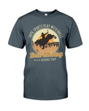 Some Sports Play With Balls Bull Riding Classic T-Shirt tile