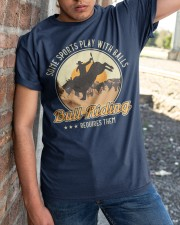 Some Sports Play With Balls Bull Riding Classic T-Shirt apparel-classic-tshirt-lifestyle-27