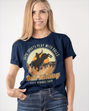 Some Sports Play With Balls Bull Riding Classic T-Shirt apparel-classic-tshirt-lifestyle-front-100