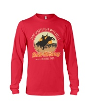 Some Sports Play With Balls Bull Riding Long Sleeve Tee tile