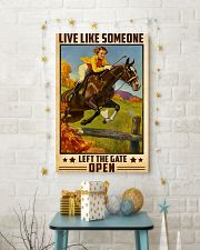 Live Like Someone 24x36 Poster lifestyle-holiday-poster-3