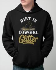 Dirt Is Cowgirl Glitte r Hooded Sweatshirt apparel-hooded-sweatshirt-lifestyle-front-45