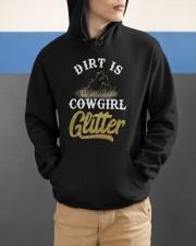 Dirt Is Cowgirl Glitte r Hooded Sweatshirt apparel-hooded-sweatshirt-lifestyle-front-53