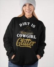 Dirt Is Cowgirl Glitte r Hooded Sweatshirt apparel-hooded-sweatshirt-lifestyle-front-84