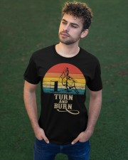Turn And Burn Classic T-Shirt apparel-classic-tshirt-lifestyle-front-43