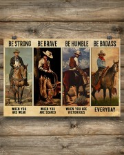 Be Strong Be Brave Be Humble Be Barass 36x24 Poster aos-poster-landscape-36x24-lifestyle-13