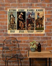 Be Strong Be Brave Be Humble Be Barass 36x24 Poster poster-landscape-36x24-lifestyle-20
