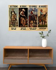 Be Strong Be Brave Be Humble Be Barass 36x24 Poster poster-landscape-36x24-lifestyle-21