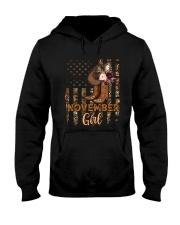 November Girl Hooded Sweatshirt tile