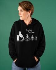 One Life One Love Hooded Sweatshirt apparel-hooded-sweatshirt-lifestyle-front-72