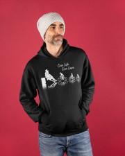 One Life One Love Hooded Sweatshirt apparel-hooded-sweatshirt-lifestyle-front-80