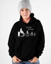 One Life One Love Hooded Sweatshirt apparel-hooded-sweatshirt-lifestyle-front-83