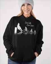One Life One Love Hooded Sweatshirt apparel-hooded-sweatshirt-lifestyle-front-84