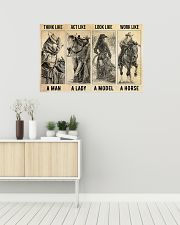 Think Act Look Work 36x24 Poster poster-landscape-36x24-lifestyle-01