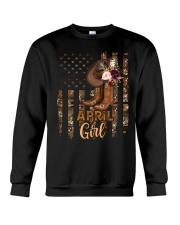 April Girl Crewneck Sweatshirt tile