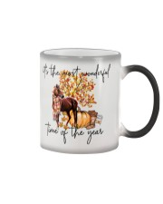 It's The Most Wondeful Time Of The Year Color Changing Mug tile