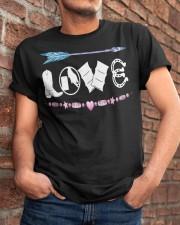 Love Barrel Racing Classic T-Shirt apparel-classic-tshirt-lifestyle-26