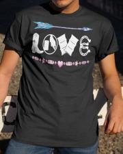 Love Barrel Racing Classic T-Shirt apparel-classic-tshirt-lifestyle-28