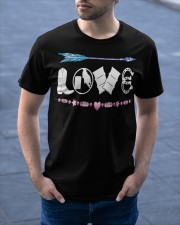 Love Barrel Racing Classic T-Shirt apparel-classic-tshirt-lifestyle-front-46