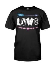 Love Barrel Racing Classic T-Shirt front