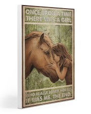 Once Upon A Time There Was A Girl Gallery Wrapped Canvas Prints tile