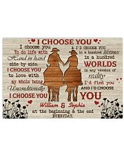I Choose You Love 24x16 Poster front