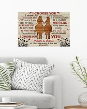 I Choose You Love 24x16 Poster poster-landscape-24x16-lifestyle-01