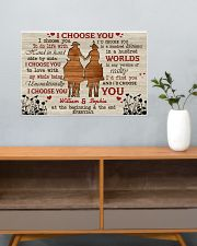 I Choose You Love 24x16 Poster poster-landscape-24x16-lifestyle-25