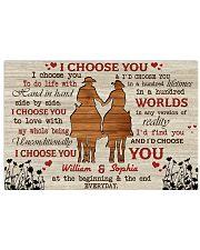 I Choose You Love Horizontal Poster tile