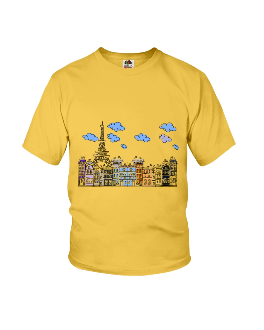 Paris drawing T-shirt for adult Youth T-Shirt
