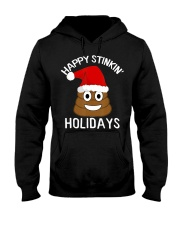 Christmas Poop Emoji T-Shirt Happy Stinkin Hooded Sweatshirt thumbnail