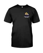 Mr Burns Unmasked Classic T-Shirt front