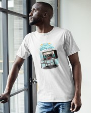 Old School Cassette Classic T-Shirt apparel-classic-tshirt-lifestyle-front-38