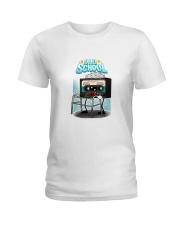 Old School Cassette Ladies T-Shirt thumbnail