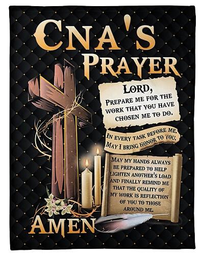 CNA's Prayer Fleece Blanket