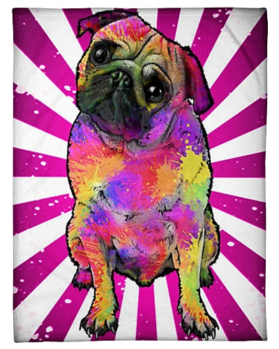 Pug - Pug Fleece Blanket