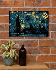 Starry Dementors 17x11 Poster poster-landscape-17x11-lifestyle-23