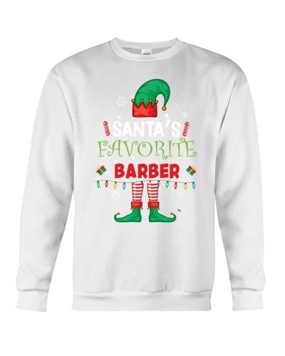 Santa's Favorite Barber - Barber Shirt