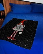 "Italian Christmas Small Fleece Blanket - 30"" x 40"" aos-coral-fleece-blanket-30x40-lifestyle-front-02"