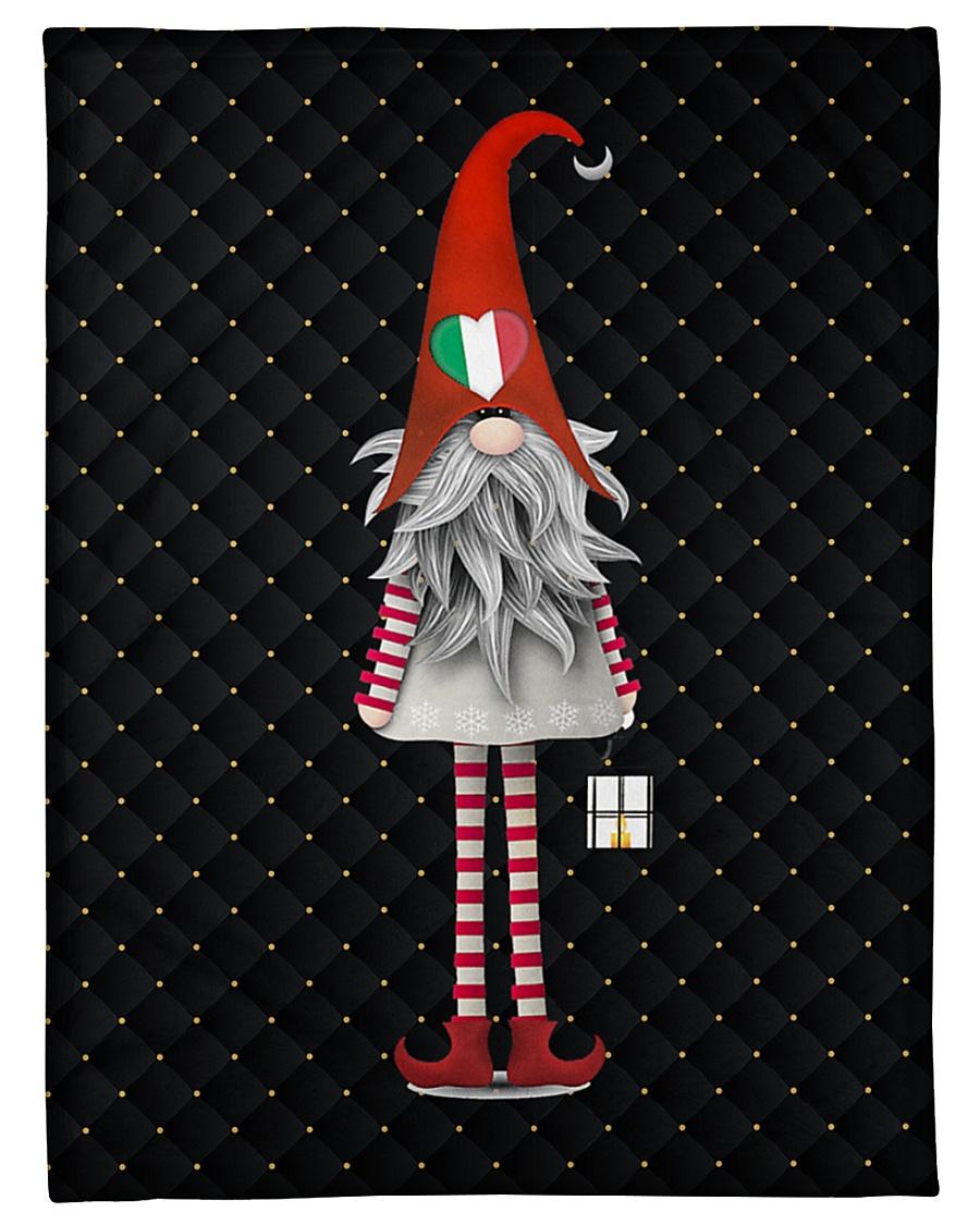 """Italian Christmas Small Fleece Blanket - 30"""" x 40"""""""
