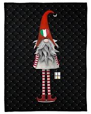 """Italian Christmas Small Fleece Blanket - 30"""" x 40"""" front"""