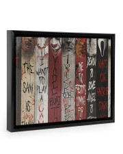 LIMITED EDITION  14x11 Black Floating Framed Canvas Prints thumbnail