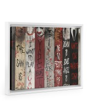 LIMITED EDITION  14x11 White Floating Framed Canvas Prints thumbnail