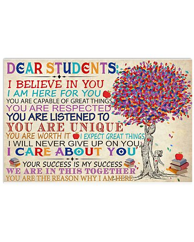Teaching Teacher Dear Students