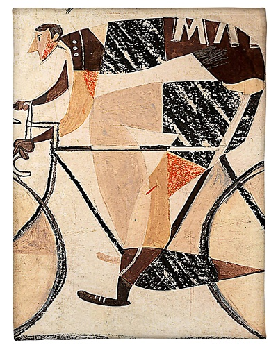Cycling Lovers Fleece Blanket