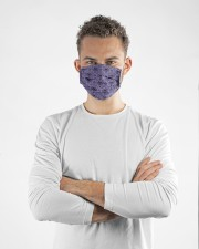 Hunted Mansion Cloth face mask aos-face-mask-lifestyle-14