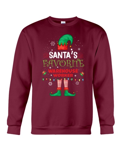 Santa's Favorite Ware House Worker