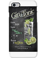 gin-tonic-poster Phone Case thumbnail