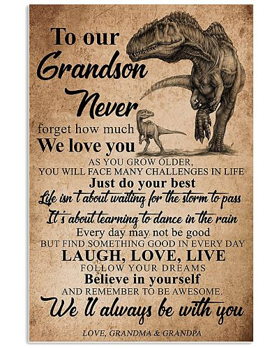 To Our Grandson